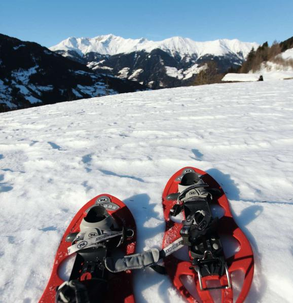 Snow shoe hikes - South Tyrol